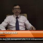 What role does risk management play in an entrepreneurial role?