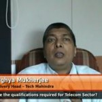 What are the qualifications required for Telecom Sector? (Ex Global Delivery Head – Tech Mahindra)
