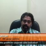 What is the growth path for corporate sales executive? (Sr. Director IT – IMC global services)