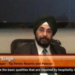 Which are the basic qualities that are required by hospitality industry in freshers? (General Manager – Taj Hotels Resorts and Palaces)