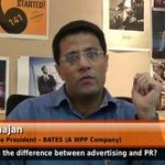 What is the key difference between advertising and public relationship?  (Associate Vice President –  BATES (A WPP Company))