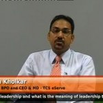 hWhat is leadership and what is the meaning of leadership to a fresher? (Head of BFSI and CEO & MD – TCS eServe)
