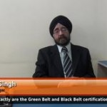 What exactly are the Green Belt and Black Belt certifications of six sigma? (Director – AIQM)