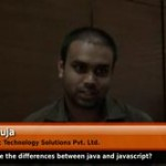 What are the differences between Java and Javascript? (CTO – Teemac Technology Solutions Pvt. Ltd.)