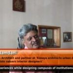 Your experiences while designing campuses of institutions. (Conservation Architect)