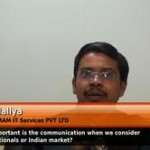How important is the communication when we consider multinationals or indian market?(HR Head – PMAM IT Services Pvt Ltd).