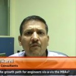 What is the growth path for engineers vis-a-vis the MBAs? (VP,HR – Kale Consultants)