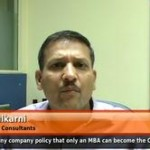 Is there any company policy that only an MBA can become the CEO of the company? (VP,HR – Kale Consultants)