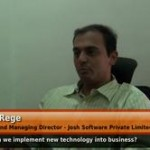 How can we implement new technology into business? (Co-founder and Managing Director-Josh Software Private Limited)