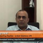 Does automated testing require human control? (VP – Cloud Computing Practice – e – Zest Solutions LTD )