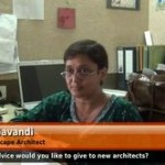 What advice would you like to give to budding architects? (Senior Landscape Architect)