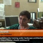 How important is training in landscape architecture and what should be its duration? (Senior Landscape Architect)