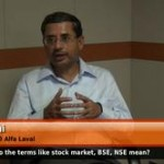 What do the terms like stock market, BSE, NSE mean? (ValueQB, CFO Alfa Laval)