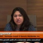 What is the growth path of a corporate sales executive? (Director of Sales – Starwood Hotels & Resort worldwide, Inc.)